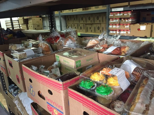 Area grocery stores like Publix and Fresh Market donate