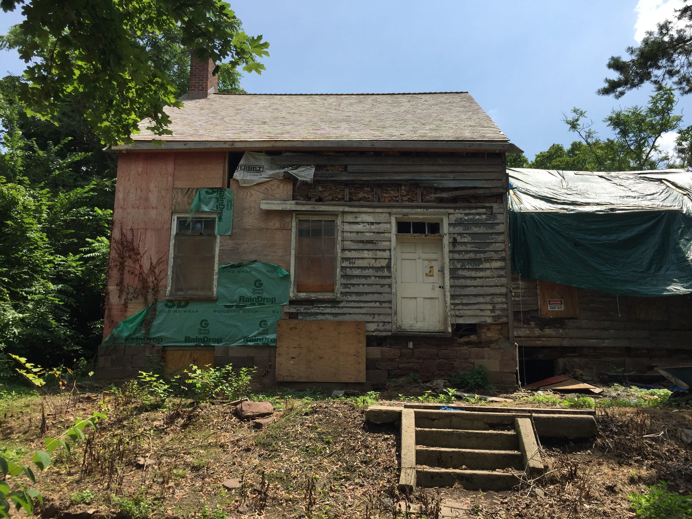 Efforts are underway to restore the Collins House in