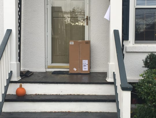 Porch pirates see opportunity when packages are left