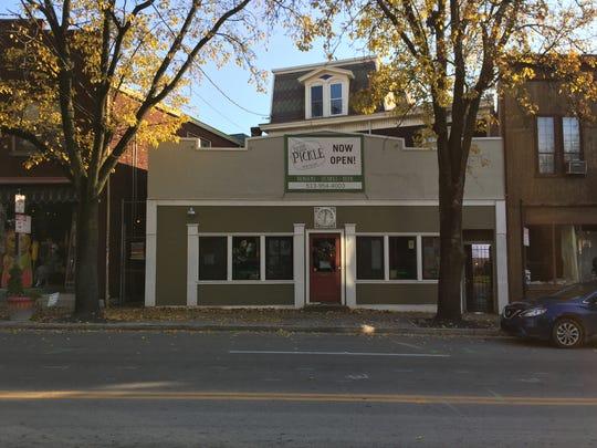 The Tickle Pickle burger restaurant in Northside.