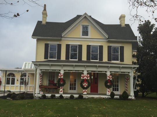 This historic house in the Village of Newtown is home to the Doscher's Candy Co. retail shop.
