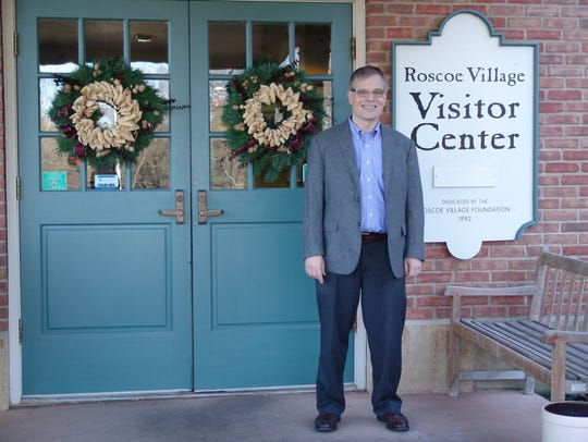 Robert Buerglener become the new director Roscoe Village