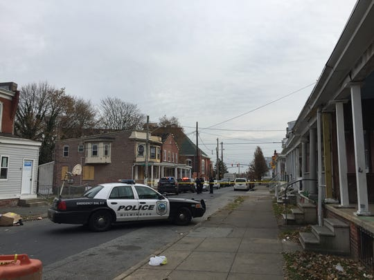 Police were dispatched to Tatnall and West 27 Street on reports of a shooting