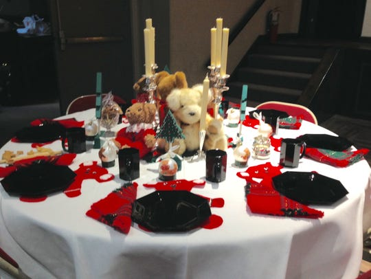 Guests at Advent by Candlelight enjoyed this whimsical