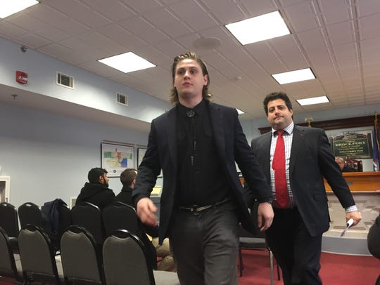 Andrew Peterson, accused of hazing and other misdemeanors,