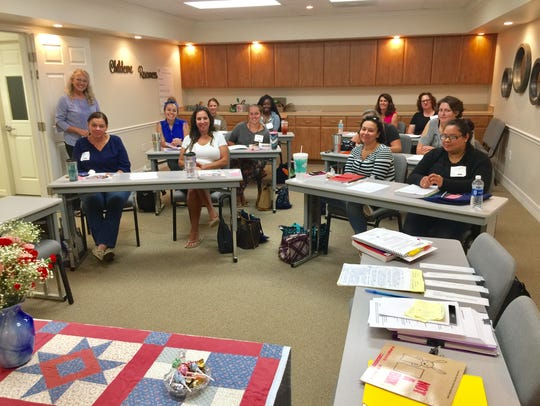 Members of the CPEE attend classes at Childcare Resources