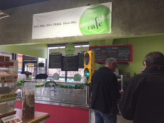 Green Light Cafe opened in the Zoom Mart Shell gas station in 2011.