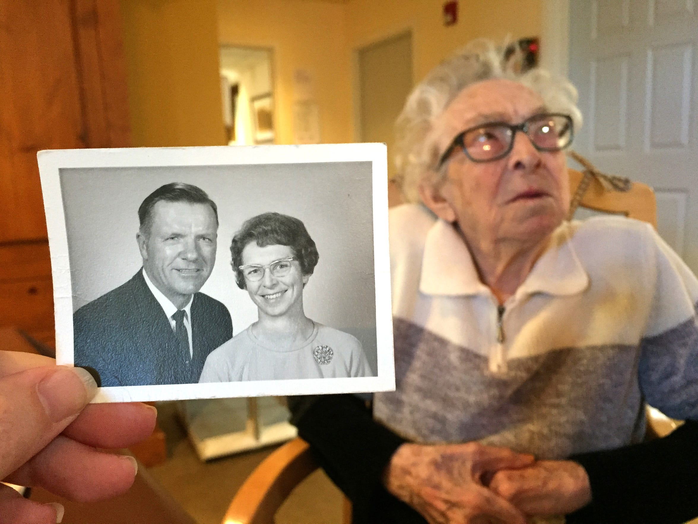 Mary Lincoln, 106, was married for 60 years to Donald Lincoln, who died in 1996.