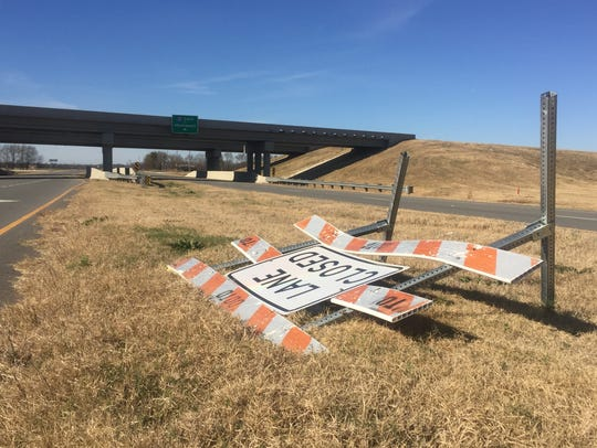 A stretch of four miles of new interstate along I-49 near Martin Luther King opened at the end of May.