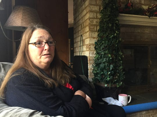 Joanne Clough expresses the difficulties involved with raising her granddaughter, Carter, since Carter's mother died last December of an overdose of fentanyl when Carter was just nine months old.
