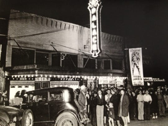 The Palace Theater in Gallatin, pictured here in 1939, first opened in 1913.