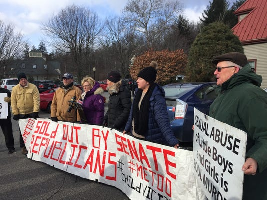 Child Victims Act protest