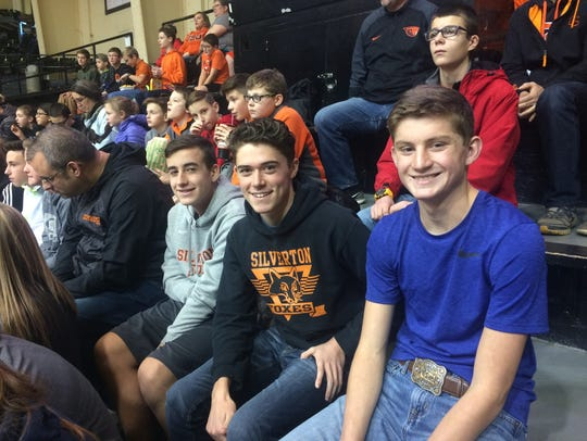 Students from the Silver Falls School District enjoy Beavers Beyond the Classroom during Oregon State women vs. Savannah State basketball game Wednesday, Dec. 13. Special to the Statesman Journal | Megan Lierman