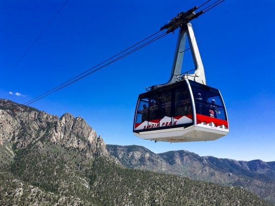 Couples can travel above canyons and uniqueNew Mexican terrain when they take a ride on the Sandia Peak Aerial Tramway.