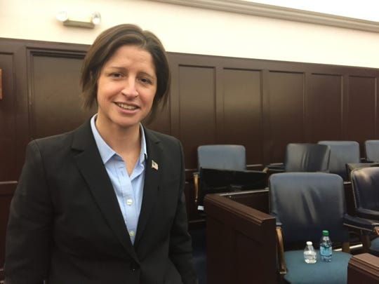 Christina Nolan was publicly sworn in as Vermont's top prosecutor on Dec 15, 2017