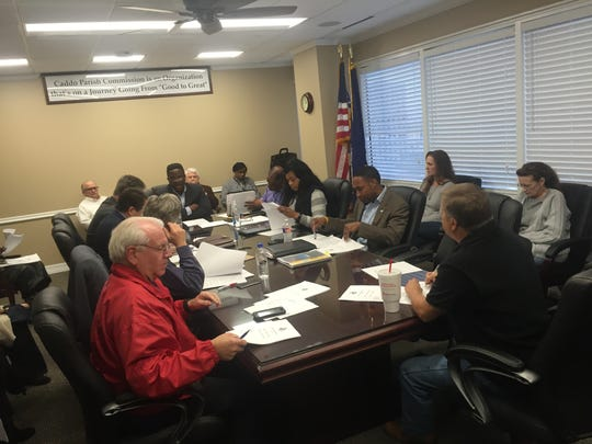 The Caddo Parish Personnel Policies and Procedures committee voted 5-1 to approve a draft of a request for proposal for an internal auditor.