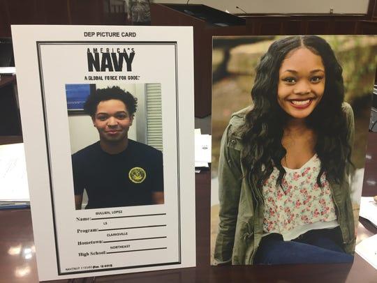 Joshua Lopez, 18, and Samia Lucas, 18, were both killed