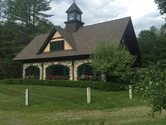 The house John O'Hurley and his family stay in on their