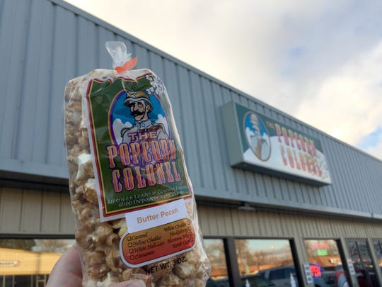 Hit the road with a bag of popcorn from the Popcorn