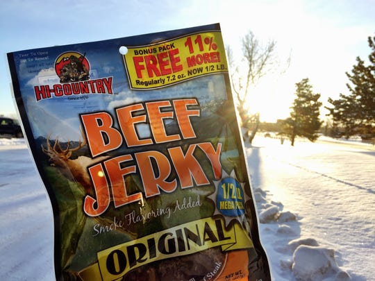 Hi-Country beef jerkey, made in Lincoln, is the king