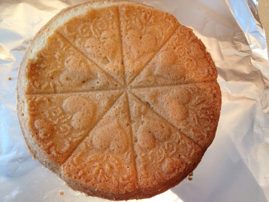 If a special mold is used for baking shortbread, the