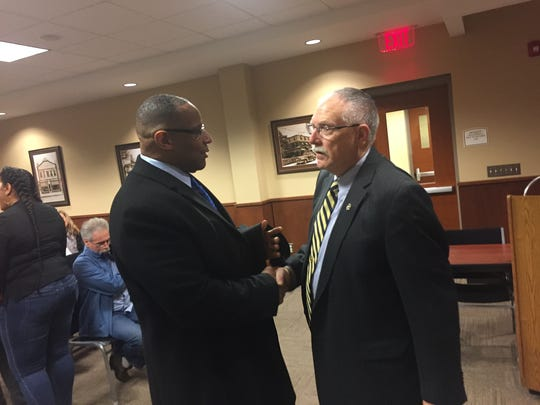 Larry Fisher was promoted to acting deputy chief of the Neptune Township Police Department.