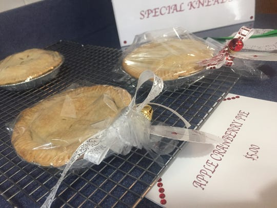 Tallman's pies will be available at the Broome County