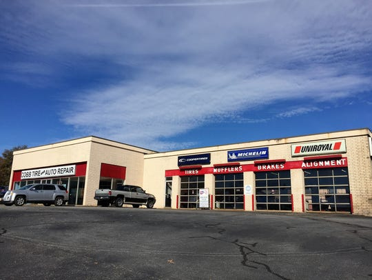 Cobb Tire has held a month-to-month lease on a county-owned