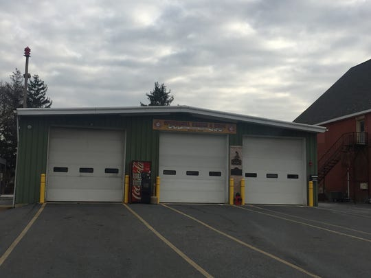The Speedwell Fire Company fire house at 324 N. 22nd