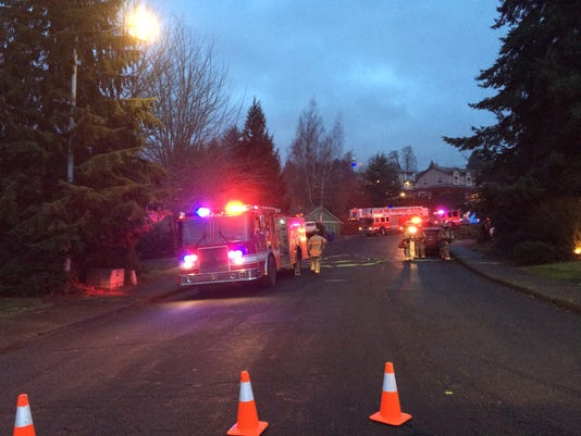 Salem Fire responds to gas leak