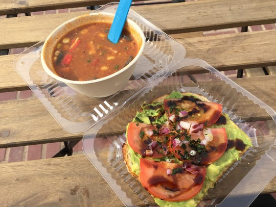 Virgin Berri offers healthy options, mostly specializing