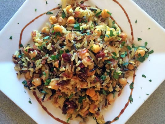 familytable10-chickpea rice dish