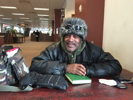Francis Miles said that the library helped him when he was homeless