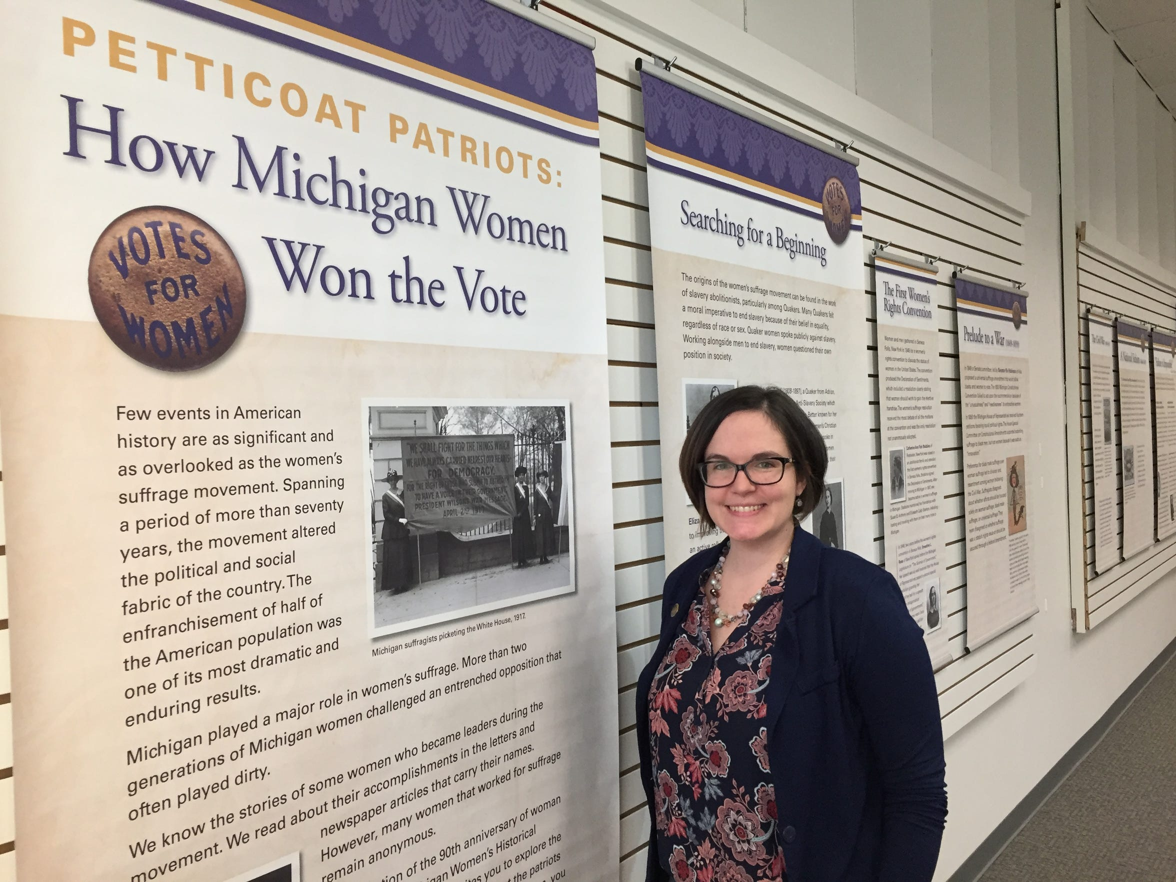 Caitlyn Perry Dial, executive director of the Michigan