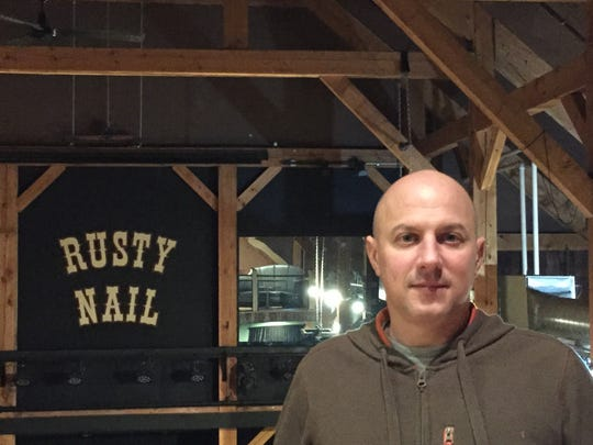 Chad Fry, co-owner of Tres Amigos and the Rusty Nail