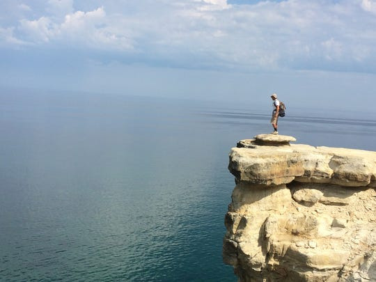 Michigan Overboard founder Jeff Cremonte's 2016 visit to Pictured Rocks National Lakeshore in Michigan inspired him to start a business that would help support water advocacy.