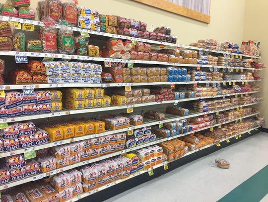 There was still plenty of bread left at Food Lion on