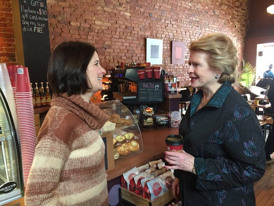Lorna Brennan, owner of Uptown Coffeehouse in Howell,