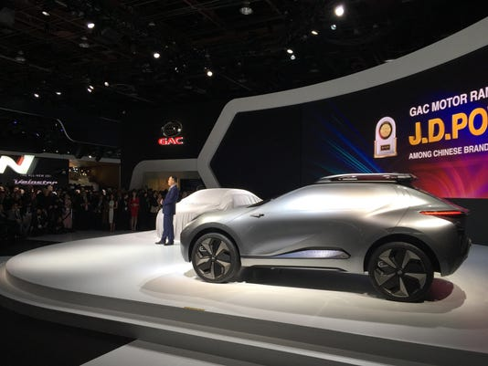 Detroit Auto Show Chinese Automaker Vows To Sell Cars To - Detroit auto show