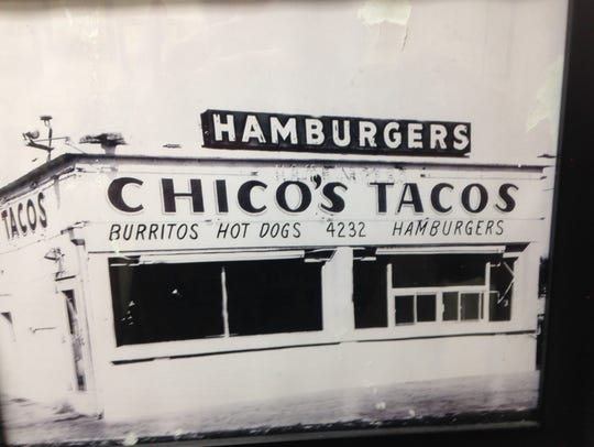 This is the original Chico's Tacos restaurant on Alameda