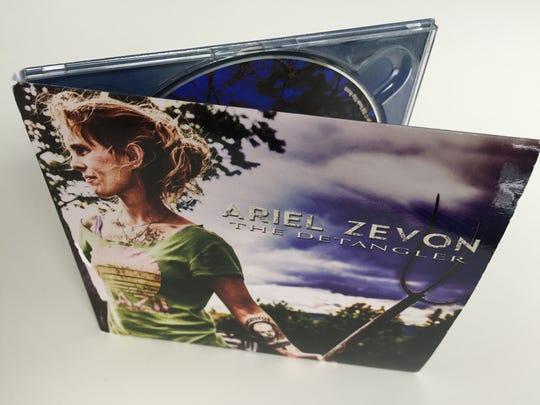 """Ariel Zevon's new album, """"The Detangler."""""""