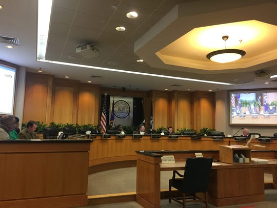 Caddo Parish Commissioners voted 7-2 to remand a resolution