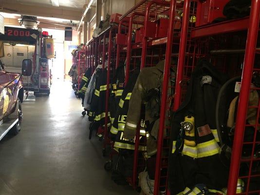 Monsey Fire Department equipment