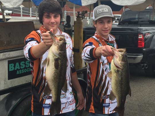 Northwood anglers Ethan Crager and Tyler Moore won a past North Louisiana High School Fishing Tournament.