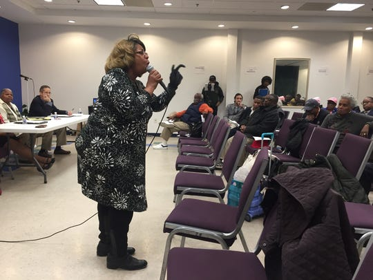In tears, Taz Woodsun, 50, shared her story of frustration about DART bus route changes. The grandmother of eight says it has made her commute to law school so difficult that she had to drop classes.