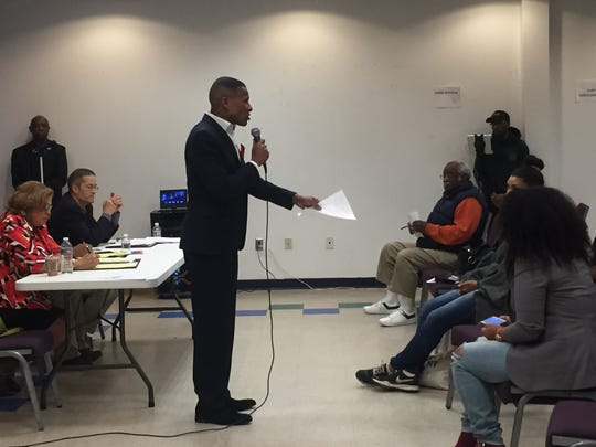 The Rev. Derrick Johnson, also known as Pastor D, said constituents should put more pressure on Mayor Mike Purzycki to prevent discrimination and reduce violence in the city.