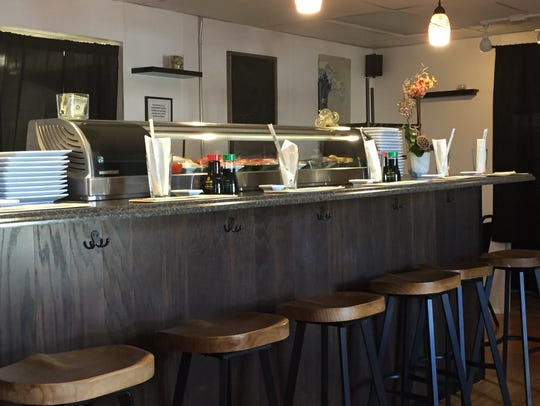At the intimate Cove Sushi on Mill Street, there are