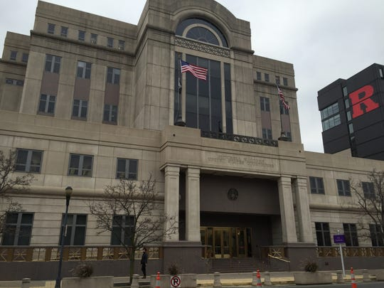 A Pennsylvania woman was ordered held after she allegedlly made bomb threats at the federal courthouse in Camden.