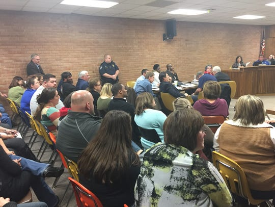 Teachers, parents and citizens attend Vermilion Parish
