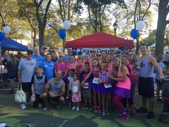 Gabby and her family participated in the Parkway Run